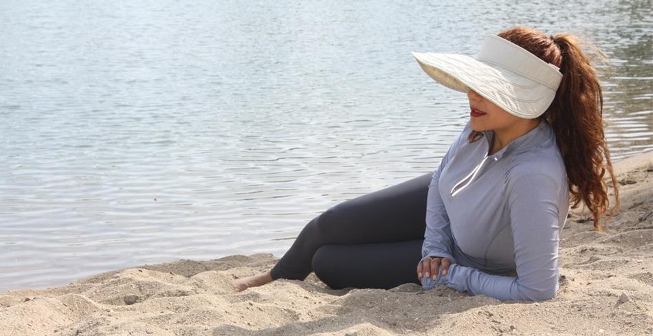 ropa para la playa con protección solar, camisetas uv, ropa protectora del sol.