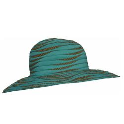 sombrero con filtro uv para la playa