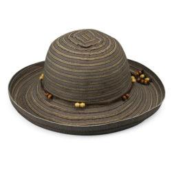 sombrero con filtro solar para mujer