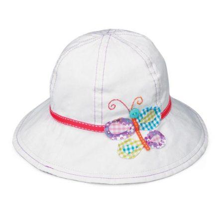 gorra wallaroo para niña con proteccion solar en mexico