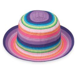 gorra wallaroo para niña con proteccion solar
