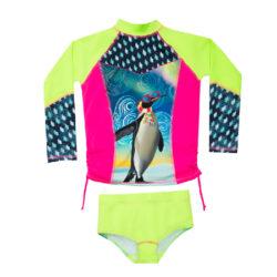 camiseta para la natacion con proteccion solar uv