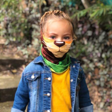 Cubrebocas para niños Covid con Proteccion solar UPF 50+
