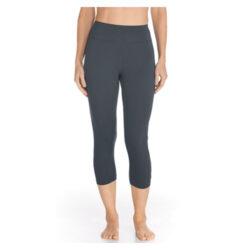 leggins con filtro solar uv con proteccion solar Swim Capris UPF50+ Grey