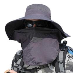 Sombrero UV Antisolar para el sol con Protección Solar UPF 50+ para pesca, senderismo, camping