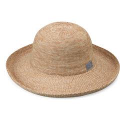 Sombrero para el sol con filtro UV con protección solar UPF 50+ Wallaroo Carkella MixedCamel