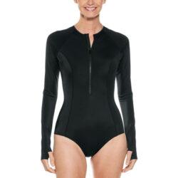 Traje de baño UV para mujer con manga larga Escalante LongSleeve Swimsuit UPF 50+ Coolibar